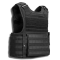 commando ballistic vest and plate carrier back